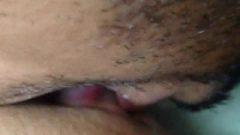 Licking Her Slutty Vagina Really Closeup