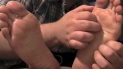 Wara's Feet Tickled Close Up