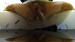 Real Teen Pussy Pissing In Close-up 360 Vr Panoramic