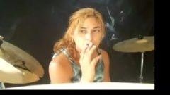 Girl Smoking 001
