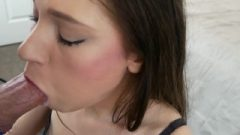 Girlfriend Gives Me An Fantastic Sloppy blow-job And Finishes It All Over Her Face