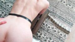 WARNING : BOOBS CUMSHOT ! Louise Smashed Savagely With Leather Panties