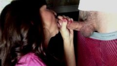 Sensual Granny Shows Us How To Suck A Penis