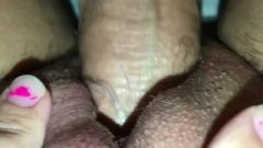 Stepdaddy Stretching Out His Baby Sluts Tight Tinie Fanny