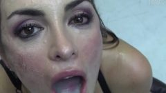 Premium Bukkake – Nicole Swallows 59 Enormous Mouthful Cumshots