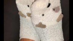 Nubile Toes Asmr Sweet Socks