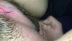 Vixen Spunks Rough On Hubby's Tongue